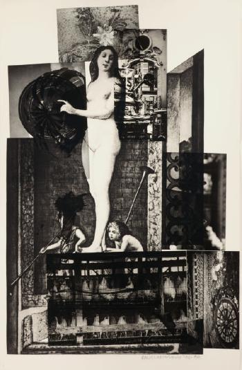 Robert Rauschenberg-Robert Rauschenberg - Bellini #4-1988