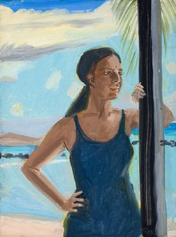Alex Katz-Ada at Tortola-1974