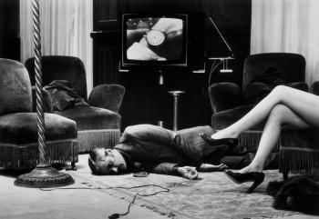 Helmut Newton-T.V. Murder, Cannes-1975