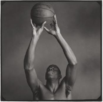 Annie Leibovitz-Magic Johnson, Los Angeles-1989