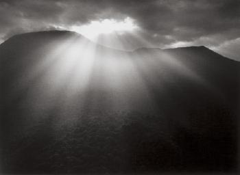 Sebastiao Salgado-View of Nyiragongo Volcano in the Virungas, Democratic Republic of Congo-2004