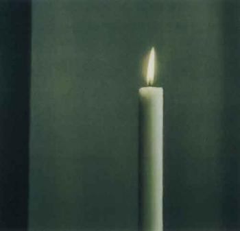 Gerhard Richter-Kerze I (Candle I)-1988