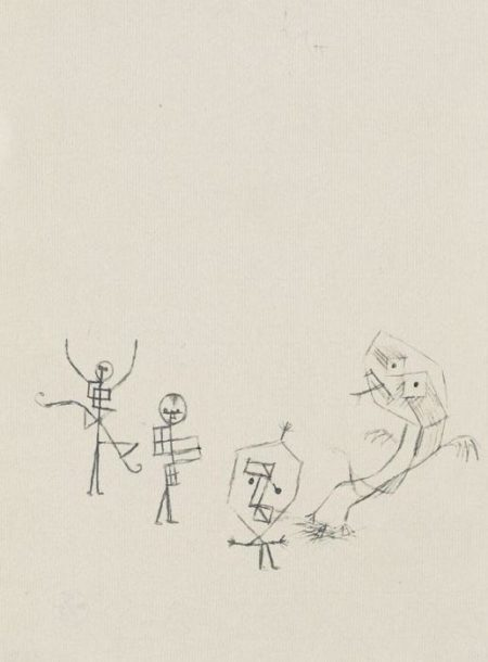Paul Klee-Maskenspiel-1929