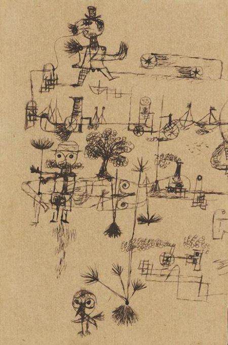 Paul Klee-Ohne Titel-1922
