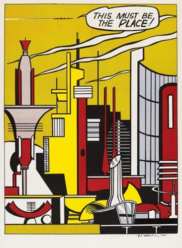 Roy Lichtenstein-This Must be the Place-1965
