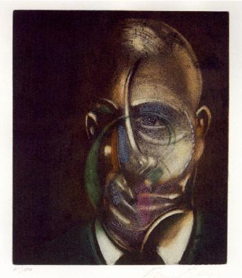 Francis Bacon-Portrait of Michel Leiris-1978
