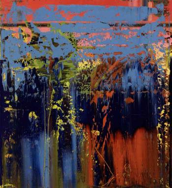Gerhard Richter-Abstraktes Bild 679-6 (Abstract Painting 679-6)-1988