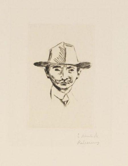 Edvard Munch-Emanuel Goldstein-1906