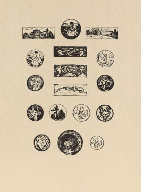 Edvard Munch-Vignetten-1907