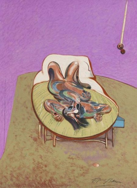 Francis Bacon-Ohne Titel (Reclining figure)-1970