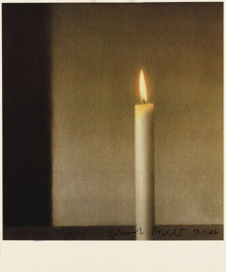 Gerhard Richter-Kerze (Candle)-1983