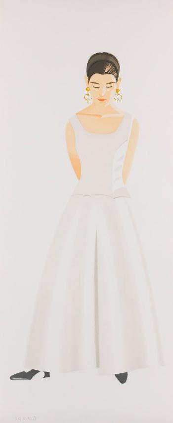 Alex Katz-Wedding Dress / La Robe de Mariee-1993