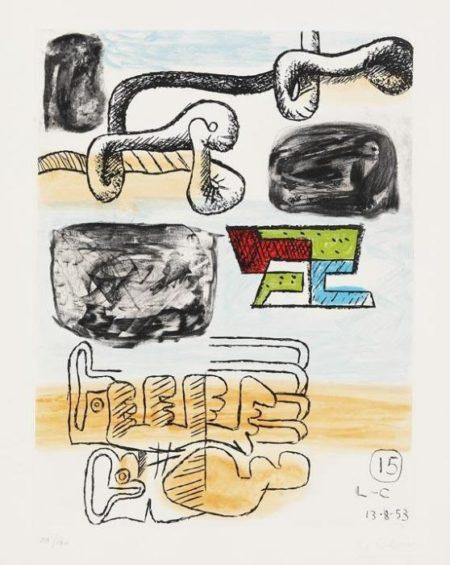 Le Corbusier-Aus: Unite 15-1965