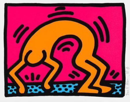 Keith Haring-Keith Haring - Pop Shop II-1988