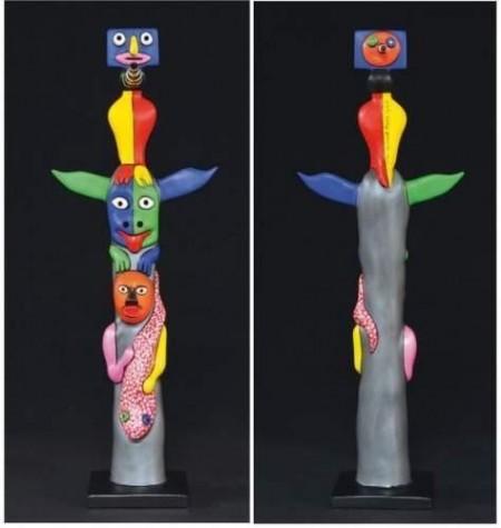 Niki de Saint Phalle-Totem du roi de pecheurs-2000
