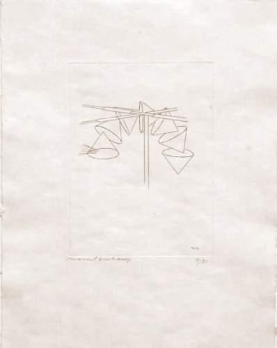 Marcel Duchamp-Les Tamis (1st state)-1965