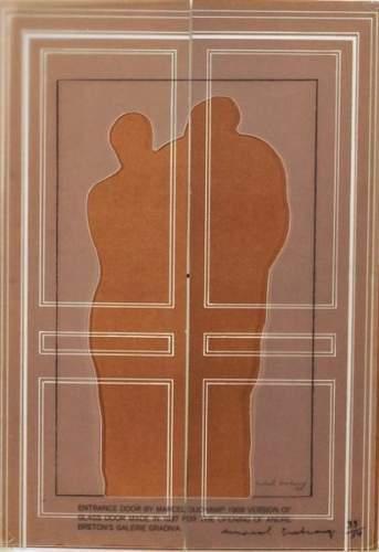 Marcel Duchamp-Entrance door-1968