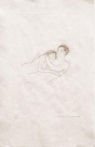Marcel Duchamp-Apres L'amour 1st state-1967