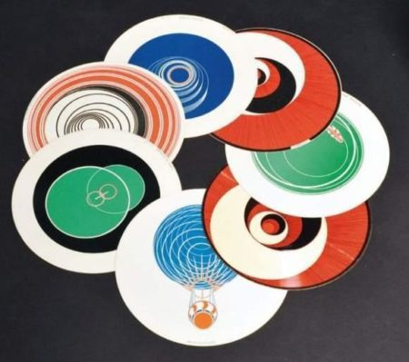 Marcel Duchamp-Rotoreliefs (Optical Discs) (Schwarz 441)-1935