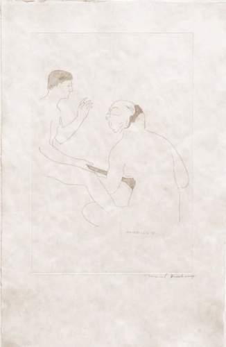 Marcel Duchamp-Morceaux choisis d'apres Ingres I (1st state) Schwarz 646b-1968