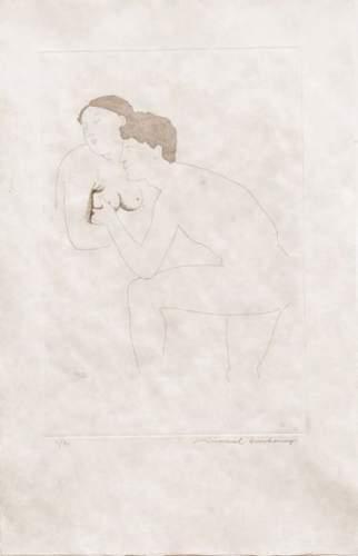 Marcel Duchamp-Morceaux Choisis d'apres Ingres II (1st state)-1968
