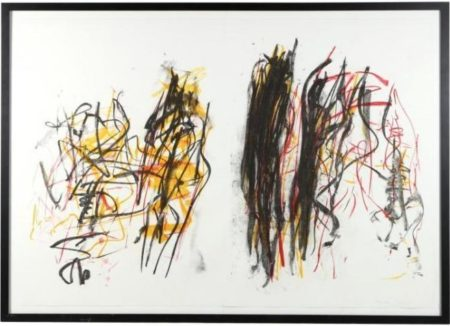 Joan Mitchell-Trees I (from Trees Series)-1992