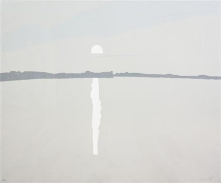 Alex Katz-Sunset, Lake Wasserunset II (M. 59; S.60)-1972