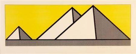 Roy Lichtenstein-Pyramids-1969