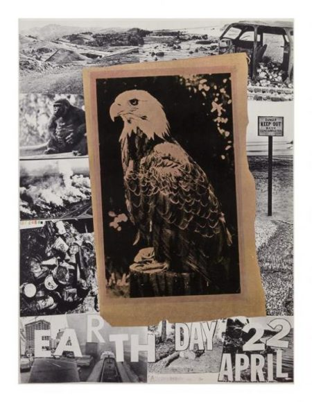 Robert Rauschenberg-Robert Rauschenberg - Earth Day April 22-1970