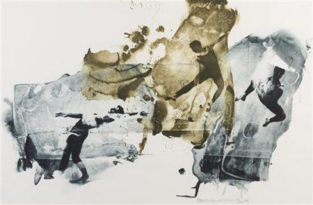 Robert Rauschenberg-Robert Rauschenberg - Ace (from Ruminations)-1999