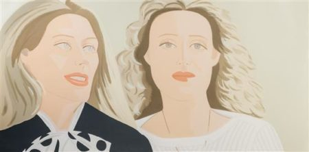 Alex Katz-Julia and Alexandra-1983
