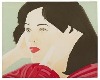 Alex Katz-Joan (Walker 44)-1986
