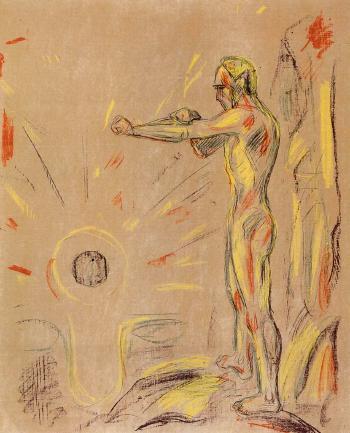Edvard Munch-Mot Lyset-1914