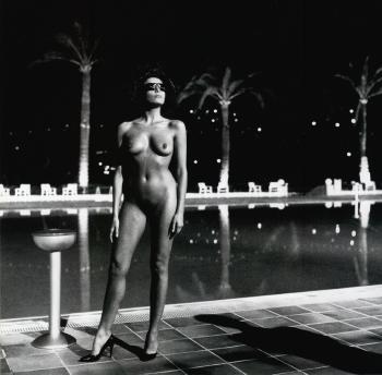Helmut Newton-Piscine, Old Beach Hotel, Monte-Carlo-1981