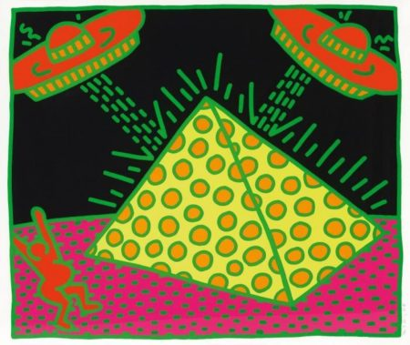 Keith Haring - Aus: The Fertility Suite-1983