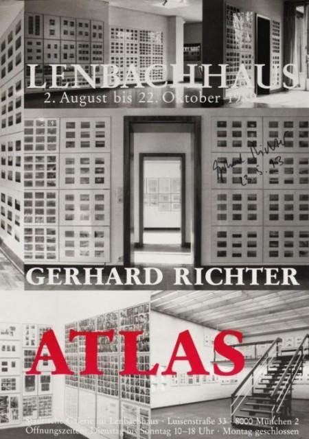 Gerhard Richter-Plakat Munchen-1993