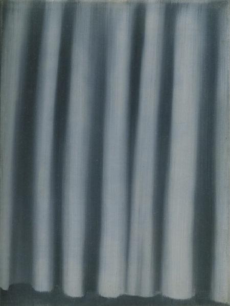Gerhard Richter-Vorhang (Curtain)-1965