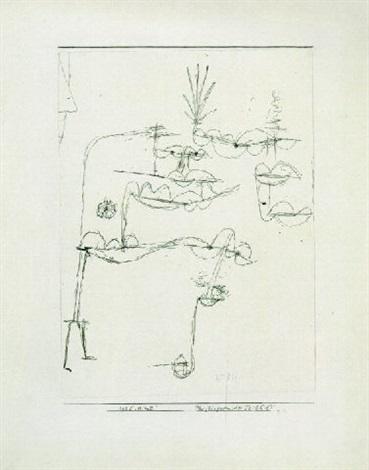 Paul Klee-Physiognomischers Teilbild (Physiognomy)-1925