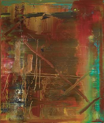 Gerhard Richter-Abstraktes Bild 889-6 (Abstract Painting 889-6)-2004