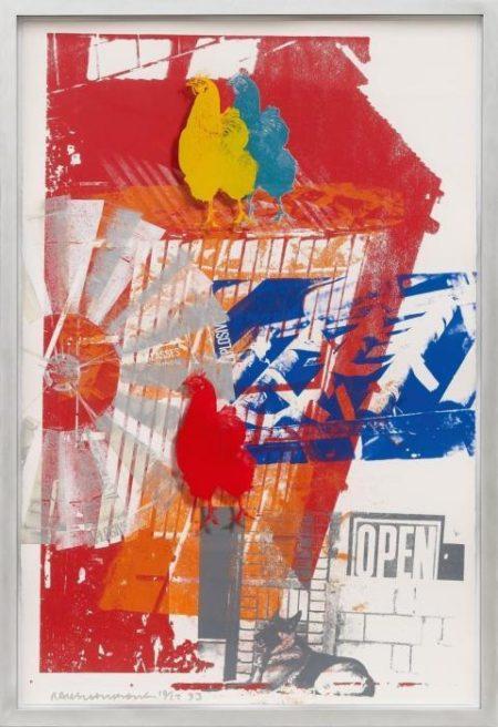 Robert Rauschenberg-Robert Rauschenberg - Cock Sure-1993