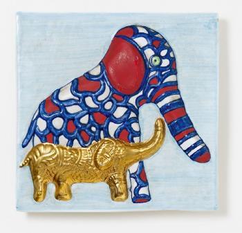 Niki de Saint Phalle-Elephant-1988