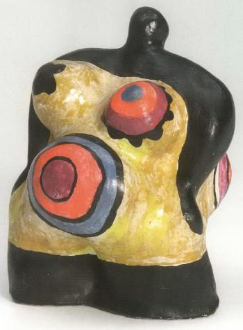 Niki de Saint Phalle-Nana Pregnant-1968
