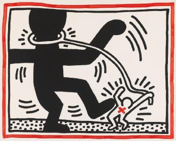 Keith Haring-Keith Haring - Untitled 2-1985