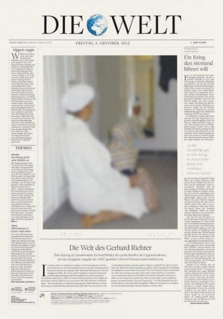 Gerhard Richter-Die Welt (The World)-2012