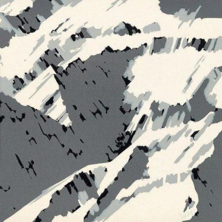 Gerhard Richter-Schweizer Alpen II B2 (Swiss Alps II B2)-1969