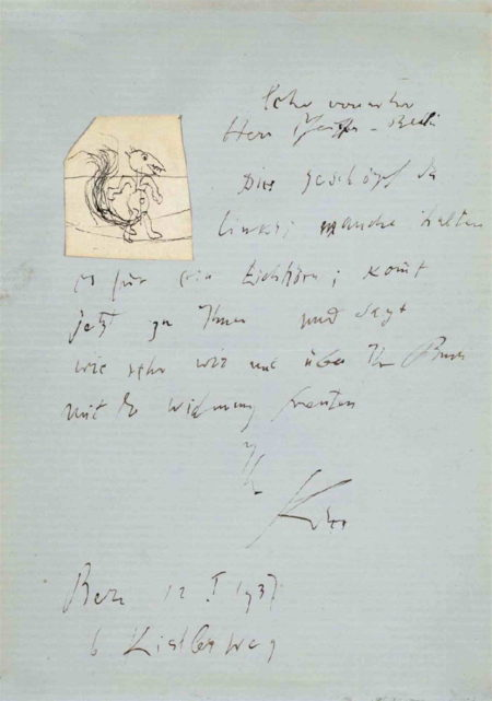 Paul Klee-Eichhorn (Squirrel)-1937