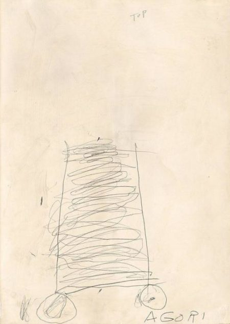 Cy Twombly-Agori-1966