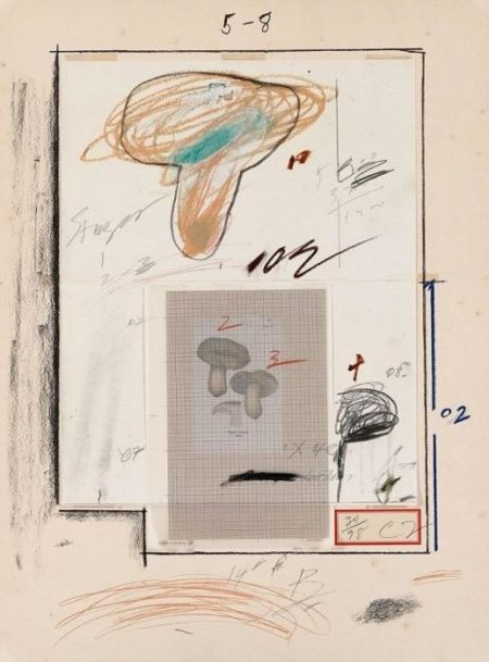 Cy Twombly-Natural History Part I (No.III)-1974