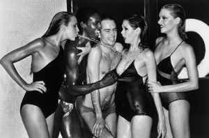 Jerry Hall Spitting (1978)-1978