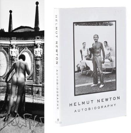 Helmut Newton-Nue Dans la villa D'Este-